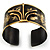 Stylish Black 'Crown' Ethnic Cuff Bangle - view 12