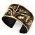 Stylish Black 'Crown' Ethnic Cuff Bangle - view 14