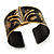 Stylish Black 'Crown' Ethnic Cuff Bangle - view 15
