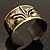 Stylish Black 'Crown' Ethnic Cuff Bangle - view 8