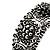 Victorian Filigree Floral Cuff Bangle (Burn Silver Tone) - view 5