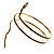 Antique Gold Snake Armlet Bangle - view 2