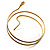 Antique Gold Snake Armlet Bangle - view 8