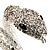 Dazzling Coil Flex Snake Bangle Bracelet (Silver Tone) - view 3