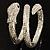 Dazzling Coil Flex Snake Bangle Bracelet (Silver Tone) - view 11