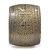 Brushed Gun Metal 'Pilgrim' Silhouette Cuff Bracelet - up to 20cm Length - view 4