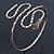 Egyptian Style Hammered Snake Upper Arm, Armlet Bracelet In Antique Gold Plating - Adjustable - view 8