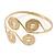 Greek Style Swirl Upper Arm, Armlet Bracelet In Gold Plating - Adjustable - view 4