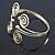 Greek Style Swirl Upper Arm, Armlet Bracelet In Gold Plating - 27cm L - Adjustable - view 5