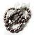 3 Strand Gray-Coloured Beaded Flex Bracelet - view 3