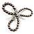 3 Strand Gray-Coloured Beaded Flex Bracelet - view 8