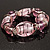 Bold Pink Glass Flex Bracelet - view 7