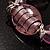 Bold Pink Glass Flex Bracelet - view 5