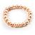 Light Cream Freshwater Pearl Flex Bracelet (9mm) - view 2