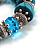 Stunning Turquoise Bead Flex Bracelet - view 4