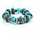 Stunning Turquoise Bead Flex Bracelet - view 7