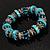 Stunning Turquoise Bead Flex Bracelet - view 5