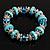 Stunning Turquoise Bead Flex Bracelet - view 2