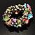 Multi-Coloured Sea Shell Flex Bracelet - view 2