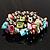 Multi-Coloured Sea Shell Flex Bracelet - view 6