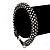 Gun Metal Austrian Crystal Bracelet - 18cm Length - view 5