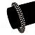 Gun Metal Austrian Crystal Bracelet - 18cm Length - view 9