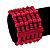 Fuchsia Multistrand Wood Bead Bracelet - up to 18cm wrist - view 2