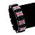 UK British Flag Union Jack Stretch Wooden Bracelet - up to 20cm length - view 2