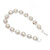 Clear/ AB Crystal Floral Bracelet In Rhodium Plated Metal - 17cm Length - view 8