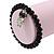 Black Glass Bead 'Owl' Flex Bracelet - 19cm Length - view 5