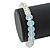 White Mountain Crystal and Swarovski Elements Stretch Bracelet - Up to 20cm Length - view 2