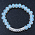 White Mountain Crystal and Swarovski Elements Stretch Bracelet - Up to 20cm Length - view 5