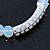 White Mountain Crystal and Swarovski Elements Stretch Bracelet - Up to 20cm Length - view 4