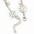 Matt Light Silver Tone Butterfly, Freshwater Pearl Chain Bracelet - 17cm L/ 3cm Ext - view 6