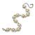 2 Tone 'Daisy' Bracelet (Silver Tone/ Gold Tone) - 20cm Length/ 6cm Extension - view 5