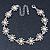 2 Tone 'Daisy' Bracelet (Silver Tone/ Gold Tone) - 20cm Length/ 6cm Extension - view 3