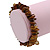 Brown Shell Nugget Stretch Bracelet - up to 19cm - view 4