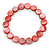 Red Sea Shell Flex Bracelet - Adjustable up to 20cm L - view 1