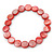 Red Sea Shell Flex Bracelet - Adjustable up to 20cm L - view 5