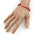 Red Sea Shell Flex Bracelet - Adjustable up to 20cm L - view 2