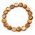 Brown Copper Sea Shell Flex Bracelet - Adjustable up to 20cm L