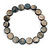 Dark Grey Shell Flex Bracelet - Adjustable up to 20cm L