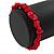 Rose Red Semiprecious Nugget Stone Beads Flex Bracelet - 18cm L - view 4