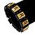 Black Wood 'Nerd' Stretch Icon Bracelet - 18cm L - view 2