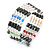 Hematite, Pearl, Glass Bead Magnetic Necklace/ Bracelet (Grey, White, Red, Blue, Green) - 90cm Total Length - view 2