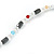 Hematite, Pearl, Glass Bead Magnetic Necklace/ Bracelet (Grey, White, Red, Blue, Green) - 90cm Total Length - view 7