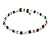 Hematite, Pearl, Glass Bead Magnetic Necklace/ Bracelet (Grey, White, Red, Blue, Green) - 90cm Total Length - view 5
