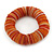 Orange Shell Flex Bracelet - 17cm L