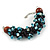 Teen/ Children/ Kids Solid Chunky Ceramic, Wood Bead, Sea Shell Cluster Bracelet - 16cm/ 5cm Ext - For Small Wrists Only - view 4