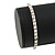 Slim AB Crystal Flex Bracelet In Silver Tone Metal - up to 17cm L - For Small Wrist - view 2